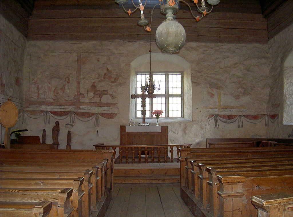 zatouchlý kostel